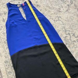 Blue and black gorgeous little dress.